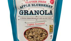 Gluten Free Apple Blueberry Granola