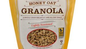 Gluten Free Honey Oat Granola