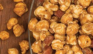 Caramel Corn W/almonds & Pecans