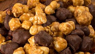 Dark Chocolate Caramel Corn