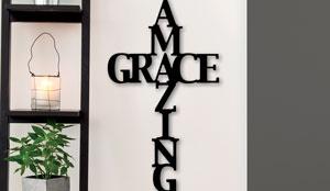 AMAZING GRACE CROSS (H903)