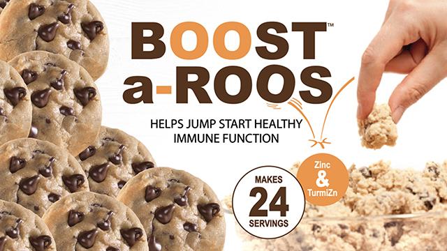 Boost-A-Roos Choc Chip - 2 - 24oz Tubs