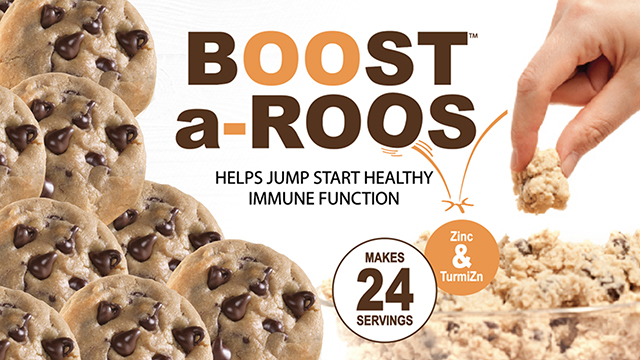 Boost-A-Roos Chocolate Chip - 4 - 24oz Tubs