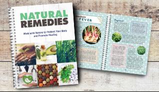 NATURAL REMEDIES BOOK
