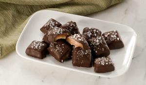 Dark Chocolate Sea Salts Caramels