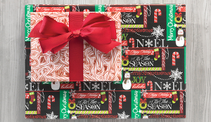 CHALK IT UP CHRISTMAS GIFT WRAP