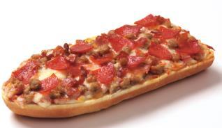 Three Meat French Bread Pizza - 4 pkgs (6/pkg - 33.72oz)