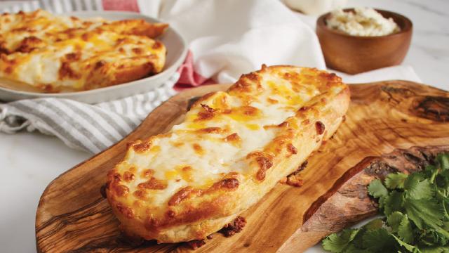 Cheesy Garlic Speed Snacks