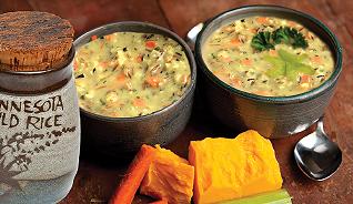 Creamy Wild Rice Soup