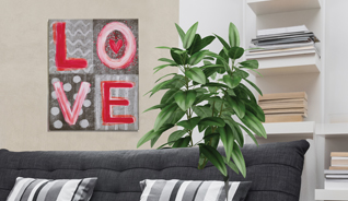 LOVE WALL WOOD PLAQUE