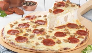 Sausage & Pepperoni Pizza - 12 pizzas (22oz each)