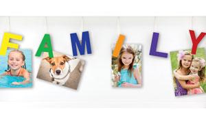 FAMILY SHADOW BOX WALL DECOR (J905)